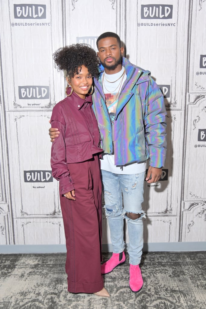 """Yara Shahidi and Trevor Jackson's relationship on Grown-ish is complicated, to say the least, but off screen, it's a different story. The actors, who play Zoey and Aaron on the Freeform series, have a bond so tight, Trevor pretty much considers Yara family. """"She's like my little sister. I love her, she's awesome . . . that's my dear friend,"""" Trevor said in a 2020 interview.  While Yara and Trevor may strictly be friends in real life, it looks like we'll finally be getting the #Zaaron romance we've been waiting for when season four of Grown-ish returns on July 8. And judging by the trailer, a wedding is also in store, though it's unclear who exactly is tying the knot. We're holding out hope for Zoey and Aaron, but in the meantime, check out photos of Yara and Trevor's real-life friendship ahead.      Related:                                                                                                           Yara Shahidi Wears This Incredible Hot-Pink Cutout Swimsuit on Grown-ish —Buy It Before Season 4!"""