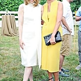 Melissa George and Nacole Snoep embraced a minimalist vibe for Coach's cocktail party.