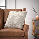 Stone & Beam Modern Soft Faux Fur Throw Pillow