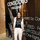 At the Opening of the H&M Conscious Pop-Up Shop