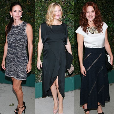 Kate Hudson and Drew Barrymore Pictures at a NRDC Chanel Dinner