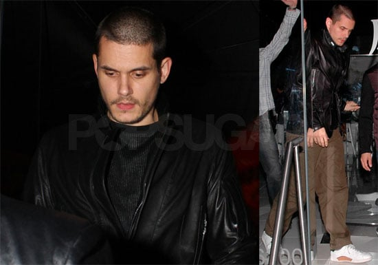 Photos of John Mayer at Katsuya in West Hollywood, Rumors That He Is Trying to Have Twins With Jennifer Aniston