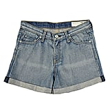 No country-inspired wardrobe is complete without a great pair of cutoffs.   Rag & Bone High Rise Short ($73, originally $145)