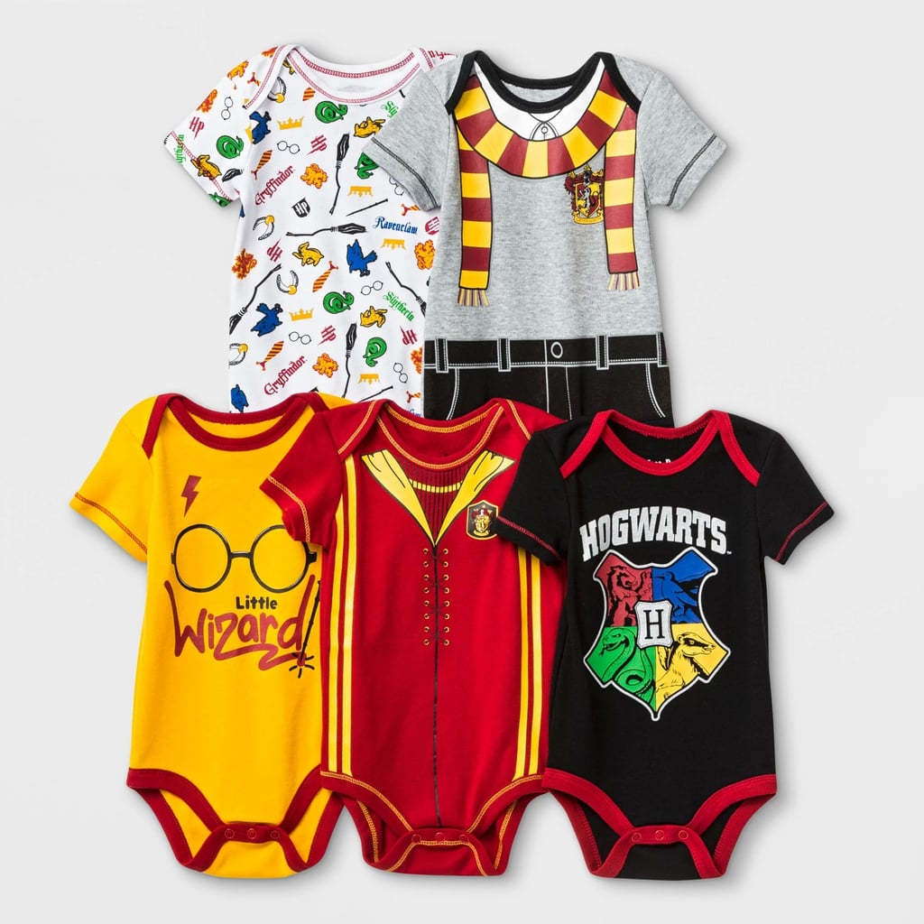Baby Warner Bros. Harry Potter 5-Pack Bodysuits