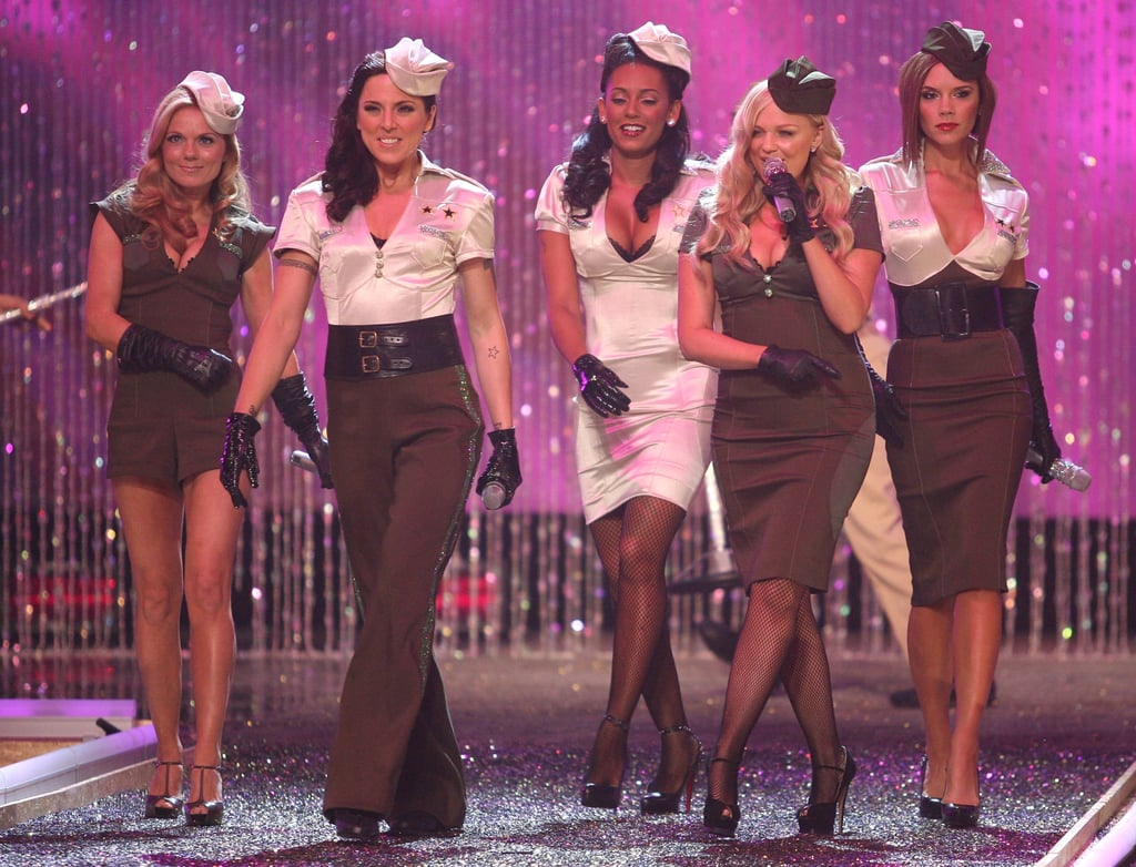 The Spice Girls joined in the fun during the November 2007 annual Victoria's Secret Fashion Show.