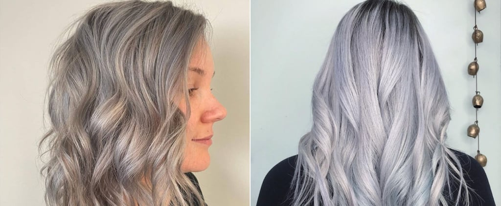 """""""Oyster"""" Grey Hair Colour Trend Photos and Inspiration"""
