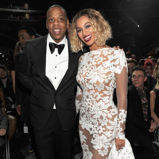 Beyonce and Jay Z PDA Pictures at 2014 Grammy Awards