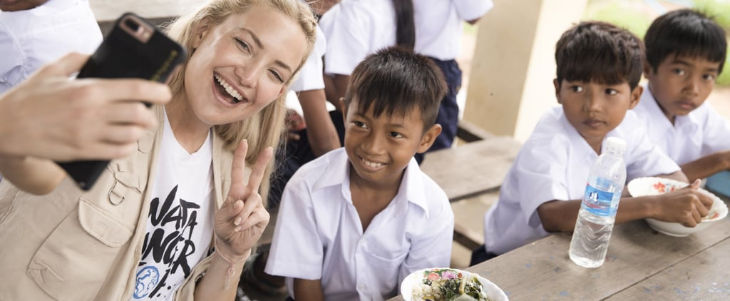 Kate Hudson Playing With Kids in Cambodia Reminds Us Why We Need to End World Hunger, Now