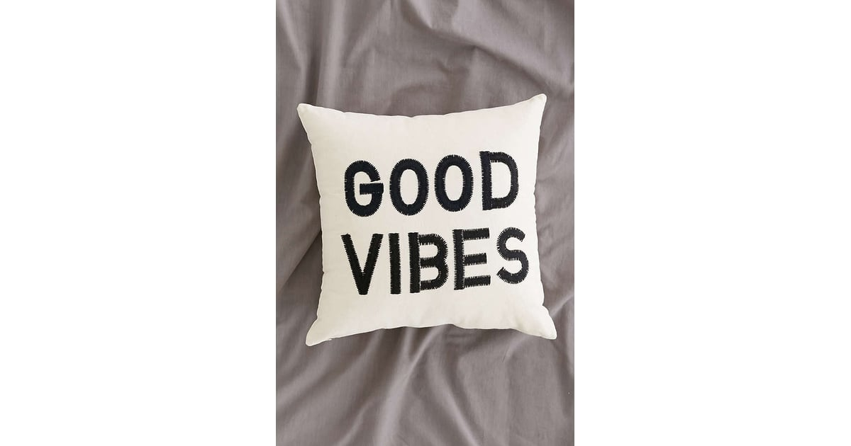 Urban Outfitters Magical Thinking Good Vibes Pillow Best Home