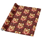 Harry Potter Charming Gryffindor Wrapping Paper
