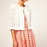 ASOS Cotton Lace Blazer ($90)