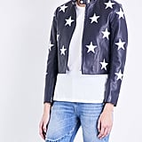 Sandro Star Motif Jacket