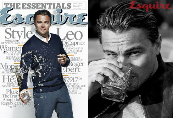 Photos of Leonardo DiCaprio Looking Like Frank Sinatra on the Cover of Esquire Magazine 2010-02-13 13:00:26