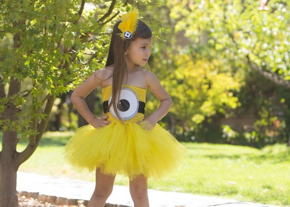 Despicable Me Minion Tutu Costume  sc 1 st  Popsugar & Despicable Me Minion Tutu Costume | Kidsu0027 Halloween Costumes ...