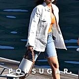 Selena Gomez Enjoying Her Vacation on the Amalfi Coast