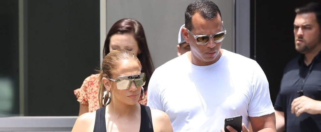 Jennifer Lopez and ARod Denim July 2018