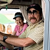Kathryn Hahn and Nick Offerman in We're the Millers.