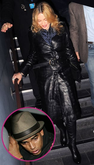 Pictures of Madonna and Rumoured New Boyfriend Brahim Zaibat on a Date in London