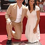 Luciana was by Matt Damon's side when he received his star on the Hollywood Walk of Fame in July 2007.