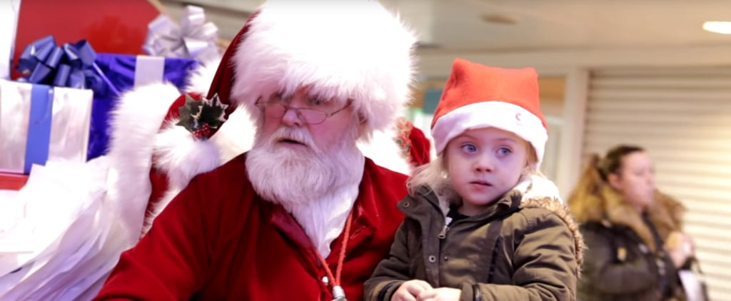 This Encounter Between Santa and a Little Girl Will Bring You to Tears