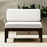 Elba Outdoor Armless Chair
