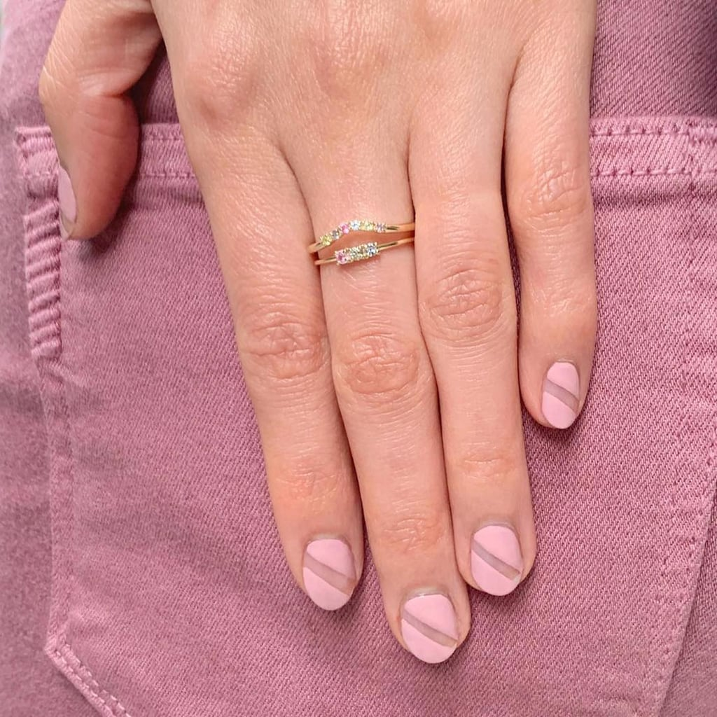 Celebrities Wearing the Baby Pink Nail Polish Trend