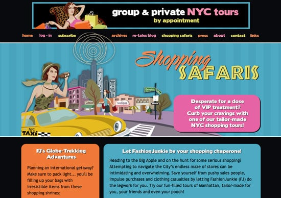 Fab Site: FashionJunkie.com