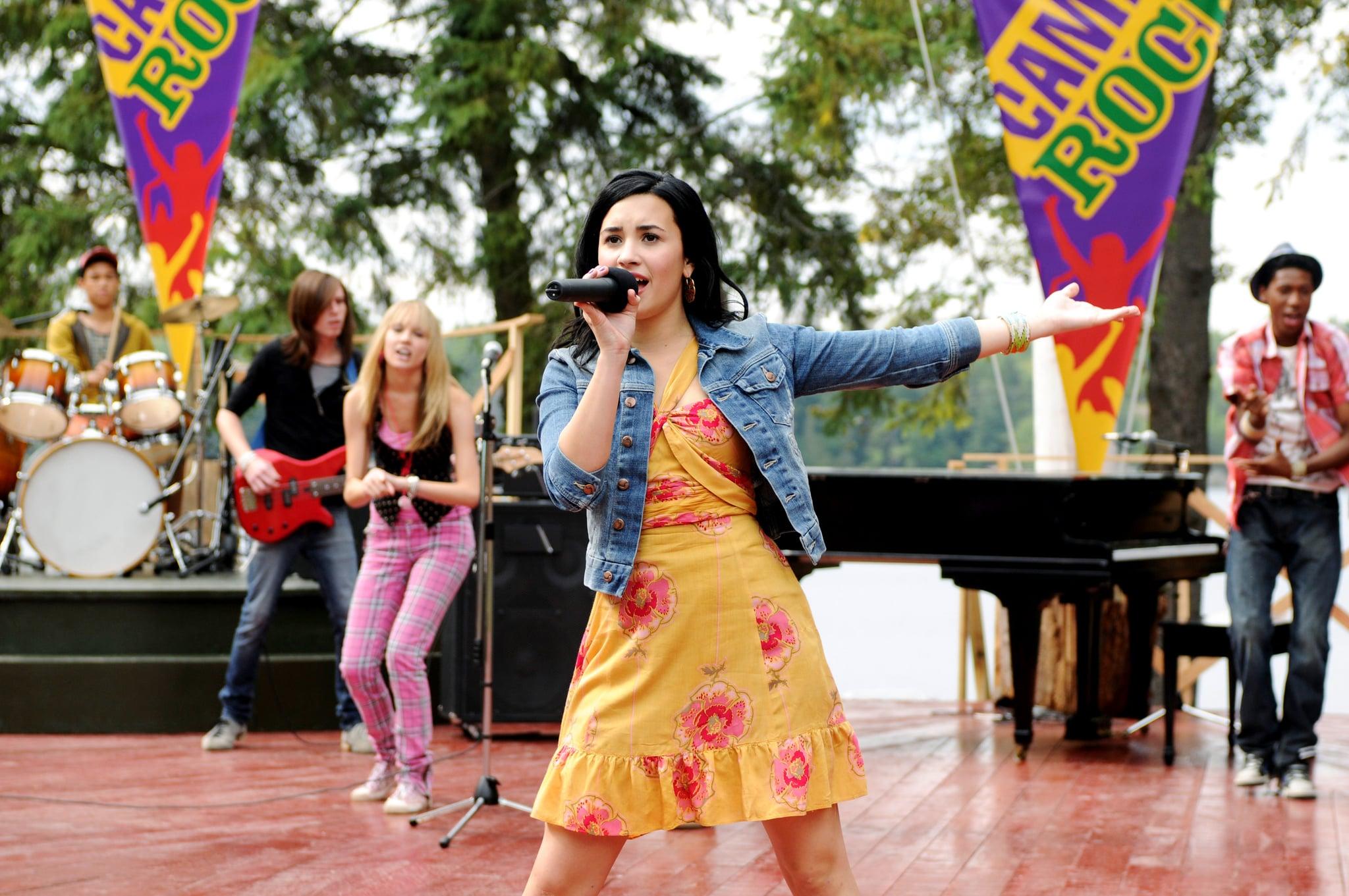 CAMP ROCK: THE FINAL JAM (aka CAMP ROCK 2), Demi Lovato, aired September 3, 2010, photo: John Medland /  Disney Channel / courtesy Everett Collection