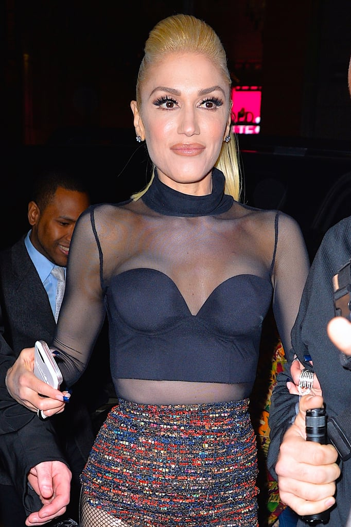 Gwen Stefani Out in NYC April 2016