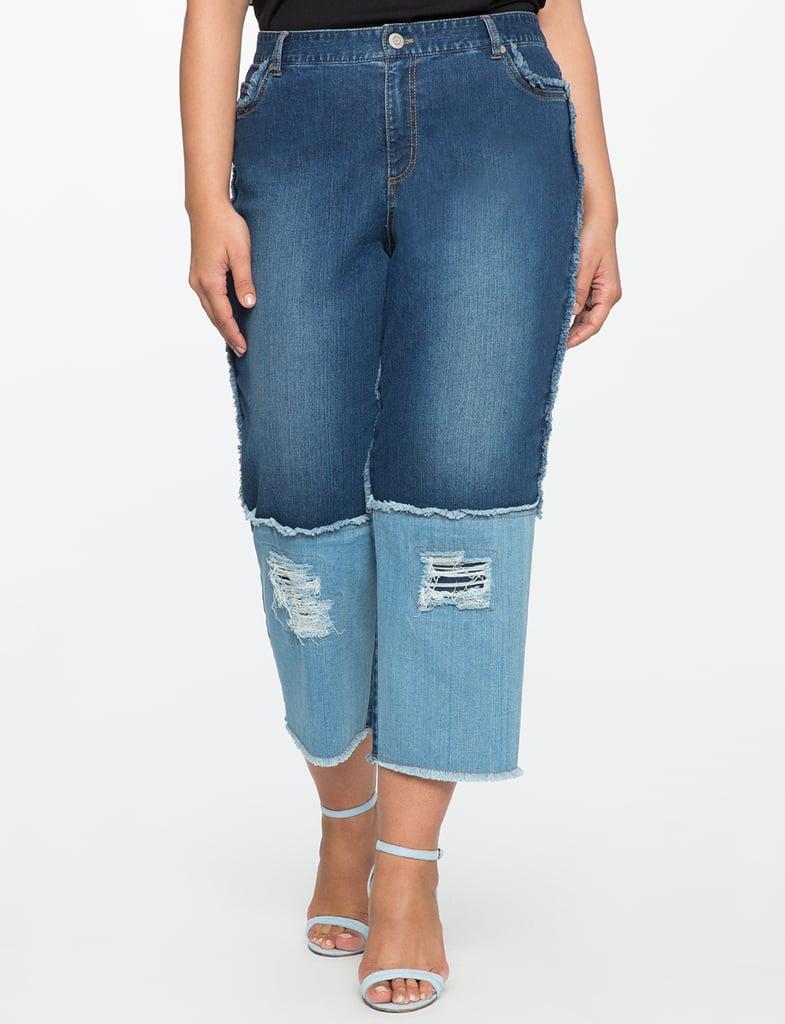 Eloquii Blocked Jeans