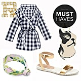 We never thought we'd see the day: Summer is finally upon us. We've been looking forward to lazy days at the beach and garden parties since we had to pack away our swimsuits and sundresses last Fall, so we aren't wasting any time scouting the best finds for the upcoming season. Shop our editors' May must have fashion picks right now, and may Summer last forever.