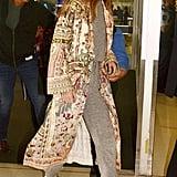 Gigi Hadid Wearing Camilla