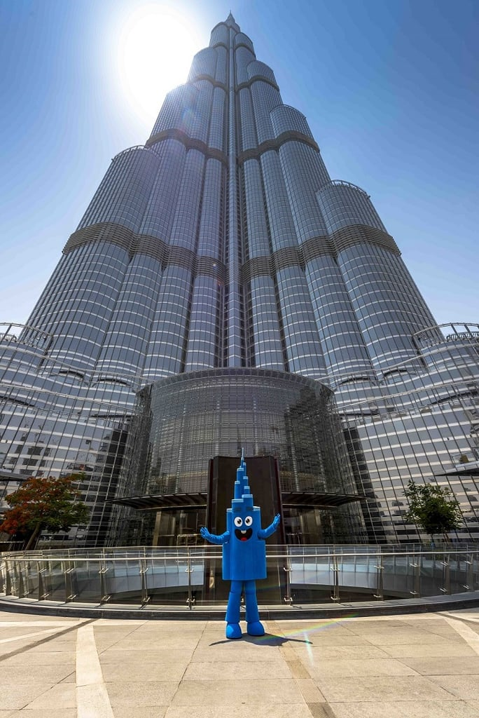 Dubai's Burj Khalifa Gets Mascot and Comic Book Character