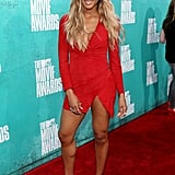 Ciara posed at the 2012 MTV Movie Awards.
