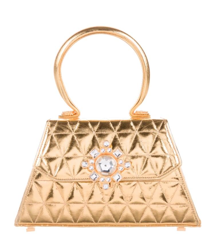 Susan Bennis/Warren Edwards Crystal-Embellished Bag