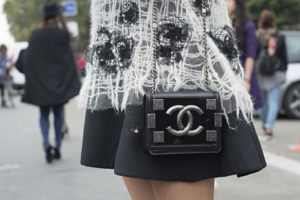 We spy a little Chanel.