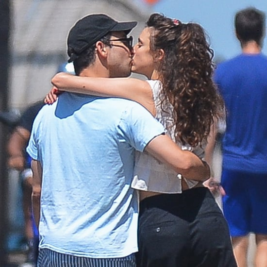 Jack Antonoff and Margaret Qualley Share a Kiss in NYC