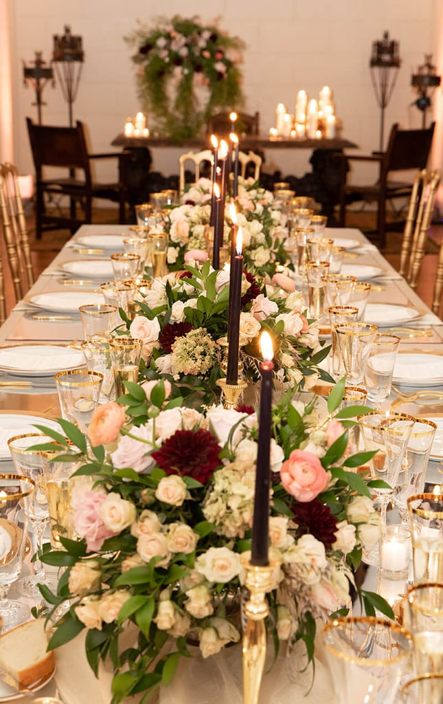 The glamorous affair was coordinated by Mark Seed Inc – an L.A based event planner with a private portfolio because their events are that exclusive.