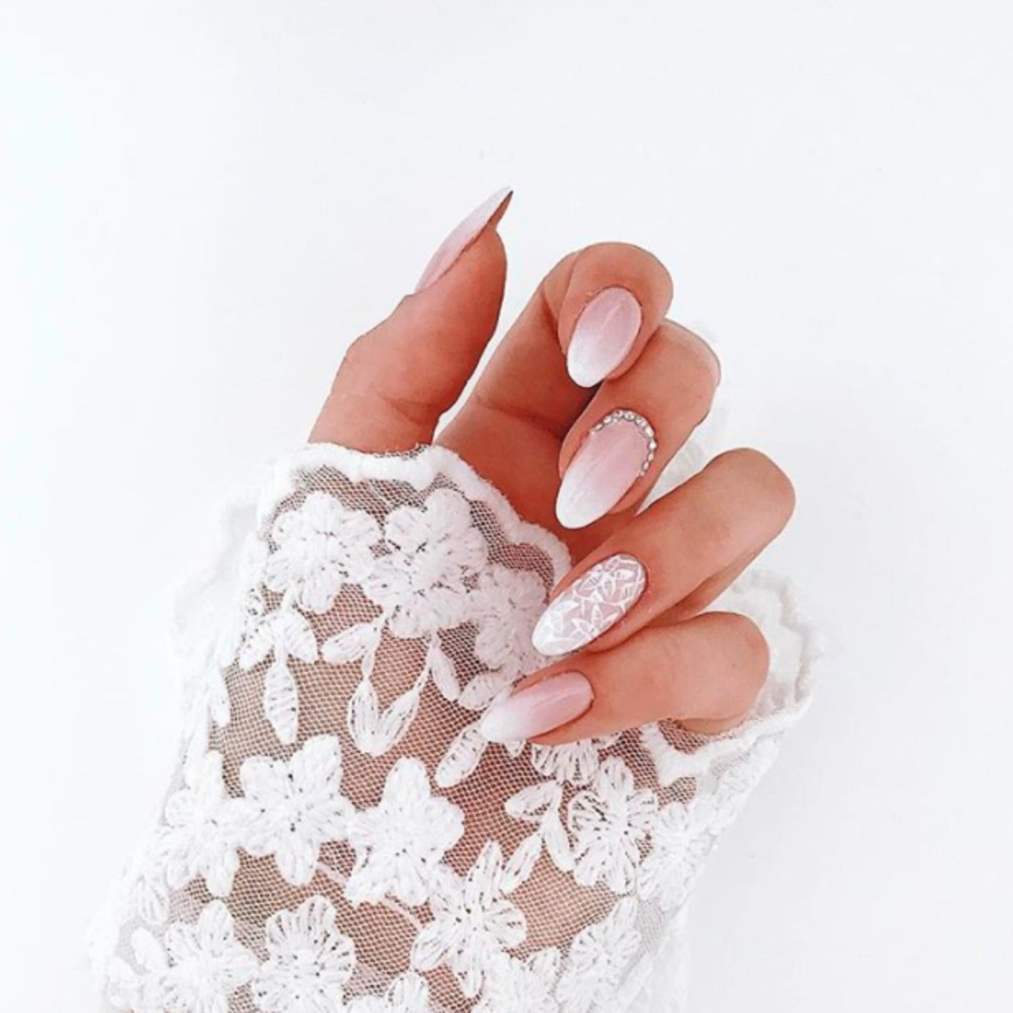 Lace Nails Inspiration | POPSUGAR Beauty UK