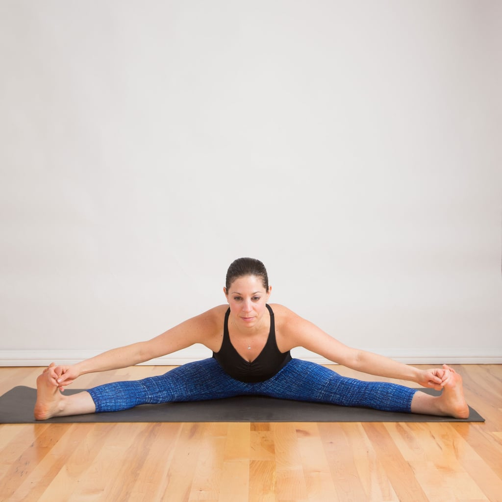 Seated Straddle Pose