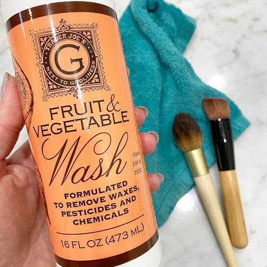 Trader Joe's Fruit and Vegetable Wash Cleans Makeup Brushes