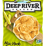 Deep River Snacks New York Spicy Dill Pickle Potato Chips