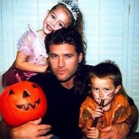 Billy Ray Cyrus Halloween Photo With Miley and Braison Cyrus