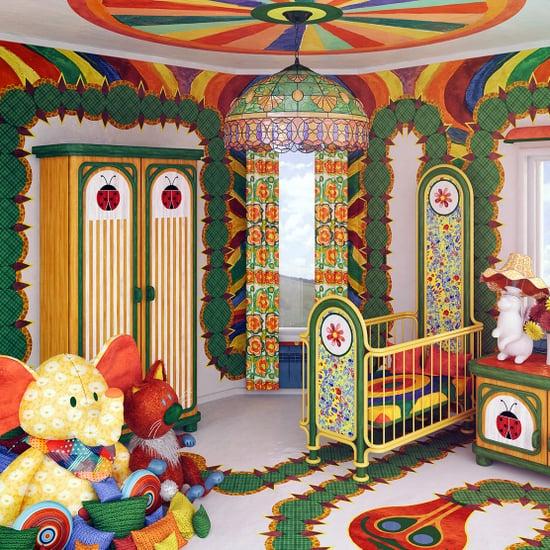 Nursery Rooms Inspired by Children's Books