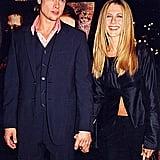Jennifer Aniston and Brad Pitt in 1999