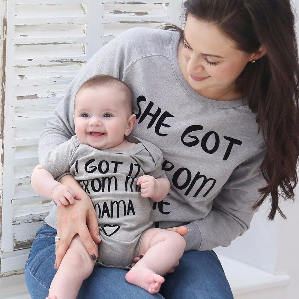 Matching Mom and Kid Shirts