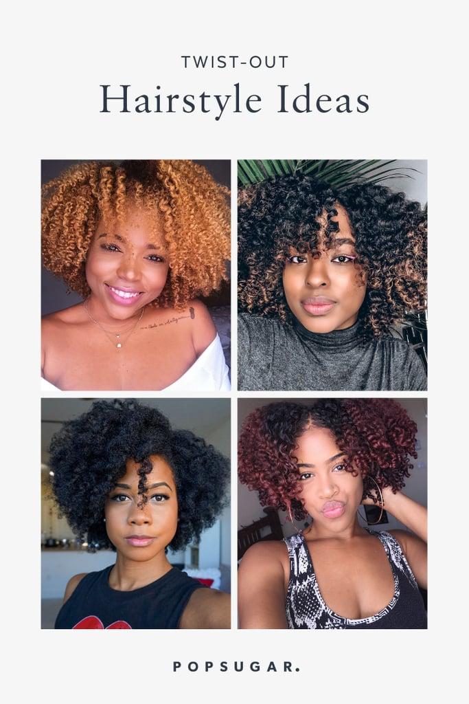 Twist Out Hairstyle Ideas Popsugar Beauty