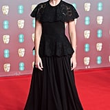Margot Robbie Reads Brad Pitt's Speech at 2020 BAFTAs Video