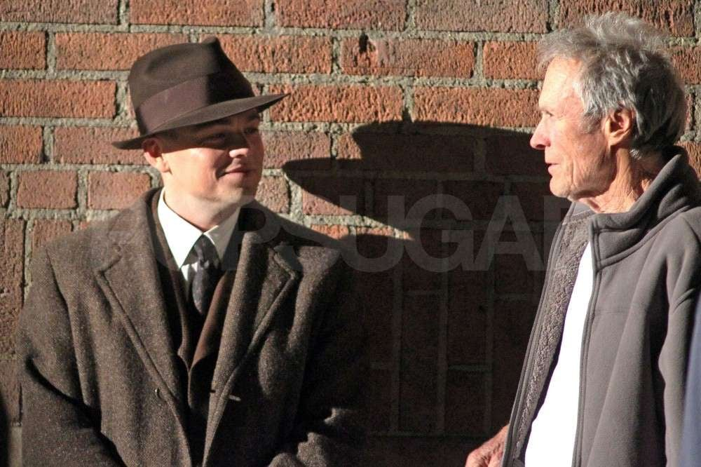 Leo and Clint Shoot Up the LA Streets on the Set of J. Edgar