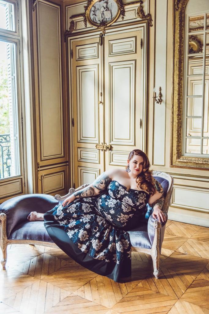 On Tess: NOIR Marais Gown ($276)
